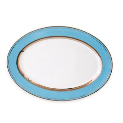 CRU by Darbie Angell Lauderdale 14.5-Inch Oval Platter