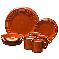 Fiesta® 16-Piece Place Setting in Paprika