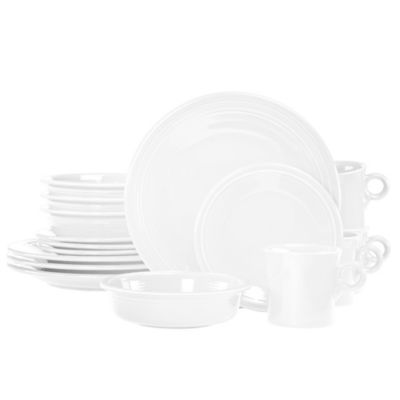 Fiesta® 16-Piece Place Setting in White
