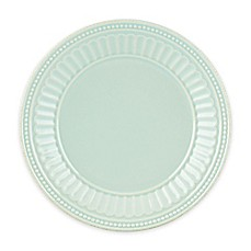 Lenox® French Perle Groove Plate in Ice Blue