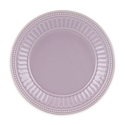 Lenox® French Perle Groove Plate in Violet