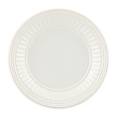 Lenox® French Perle Groove Plate in White