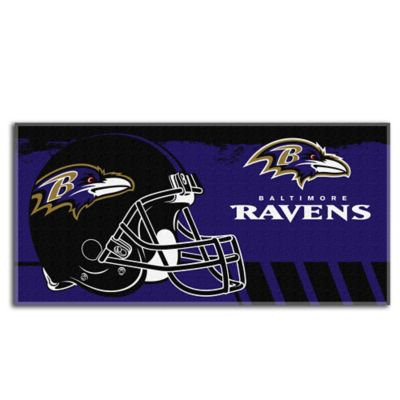 NFL Baltimore Ravens Super-Sized Beach Towel