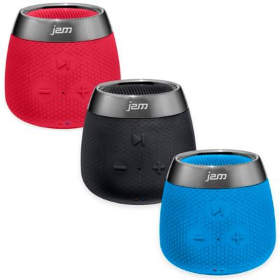 JAM® Replay Wireless Bluetooth® Speaker in Red