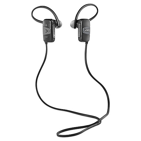 buy jam transit mini bluetooth wireless earbuds in grey from bed bath beyond. Black Bedroom Furniture Sets. Home Design Ideas