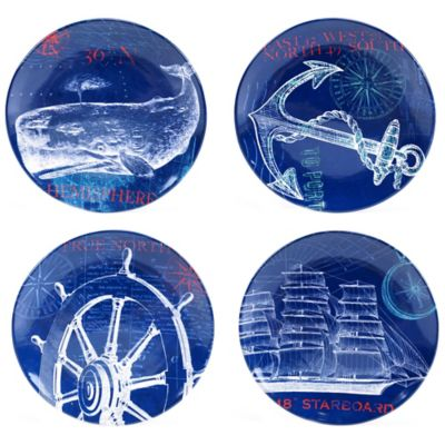 Certified International Pier 45 Dinner Plate Set (Set of 4)