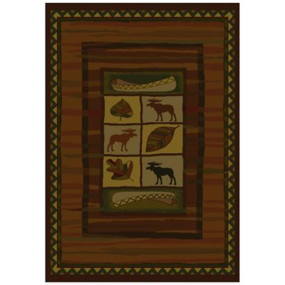 United Weavers Highland Falls Lodge 7-Foot 10-Inch x 10 Foot 6-Inch Area Rug