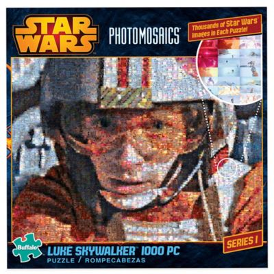 Star Wars™ Photomosaics 1,000-Piece Luke Skywalker™ Jigsaw Puzzle