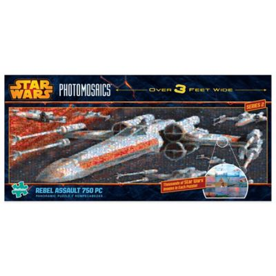 Star Wars™ Panoramic Photomosaics 750-Piece Rebel Assault Jigsaw Puzzle