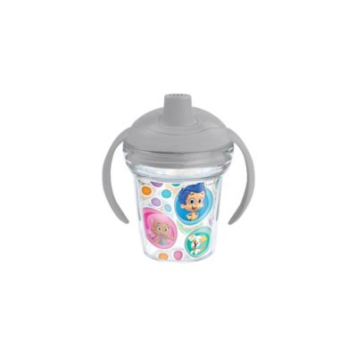 Tervis® My First Tervis™ Bubble Guppies 6 oz. Sippy Design Cup with Lid in Grey