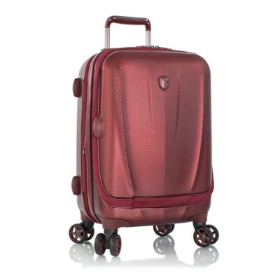 Heys® Vantage Smart Luggage™ 21-Inch Carry On Spinner in Burgundy
