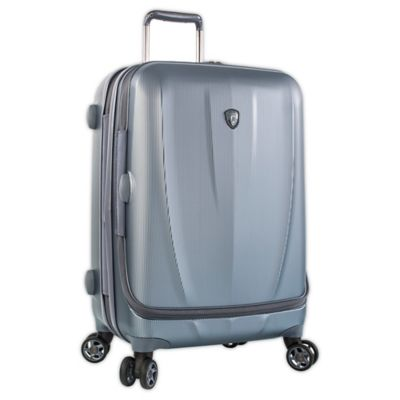 Heys® Vantage Smart Luggage™ 26-Inch Expandable Spinner in Slate Blue