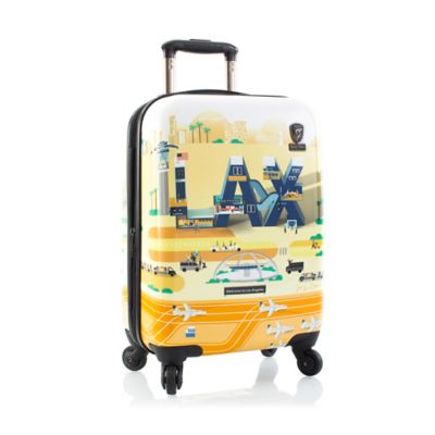 Heys® Jing Zhang IATA 21-Inch Los Angeles International Airport (LAX) Carry On Spinner