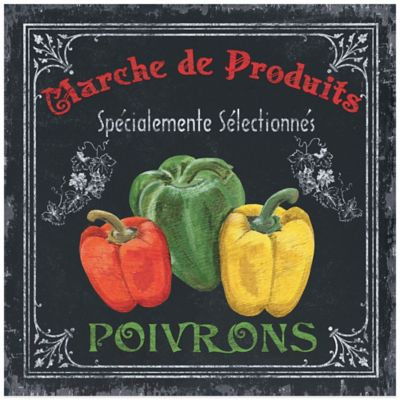 French Vegetables 3 Canvas Wall Art
