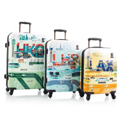 Heys® Jing Zhang IATA 3-Piece Spinner Set