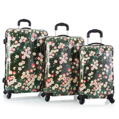 Heys® 3-Piece Sakura Spinner Luggage Set