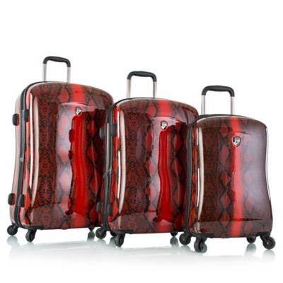 Heys® 3-Piece Exotic Python Fashion Spinner Luggage