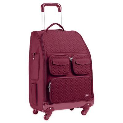 Lug® Cruiser 4-Wheel Roller Bag in Cranberry Red