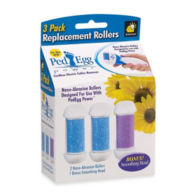 PedEgg™ Power Replacement Rollers