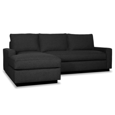 Kyle Schuneman for Apt2B Harper 2-Piece Left Arm Facing Sectional with Black Base in Bisque