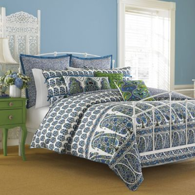 Collier Campbell Pondicherry Reversible Full/Queen Mini Comforter Set