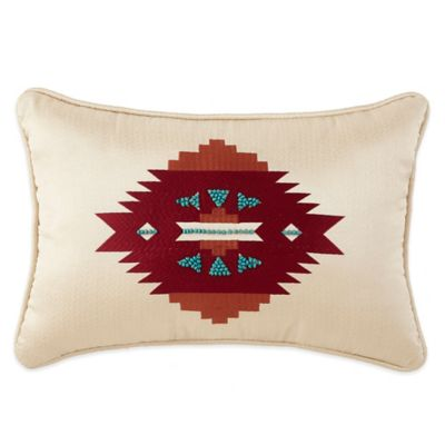 Cheyenne Oblong Throw Pillow in Brown