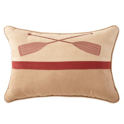 Crescent Lodge Paddle Breakfast Throw Pillow