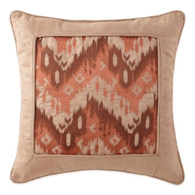 Desert Ridge Chevron Square Throw Pillow