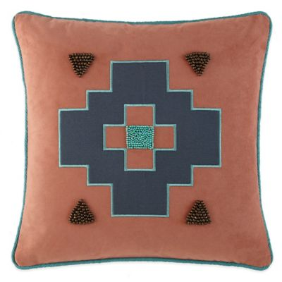 Painted Desert Square Throw Pillow