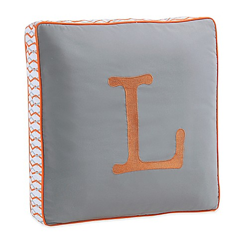 Throw Pillows With Letters : Letter