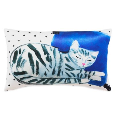 kate spade new york Cat Nap Oblong Throw Pillow in Multi