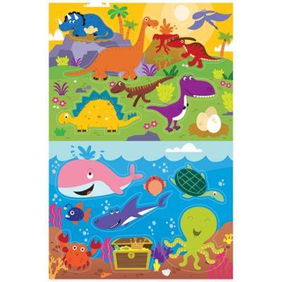 Prince Lionheart® 2-Pack Dino/Ocean Bath Puzzle