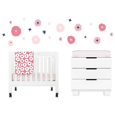 4-Piece Pink Crib Bedding