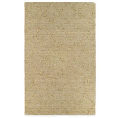 Kaleen Imprints Modern 2-Foot x 3-Foot Rug in Yellow