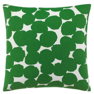 kate spade new york Random Dot Square Throw Pillow in Navy