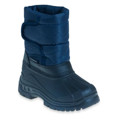 Josmo Shoes Size 5 Rugged Bear Snow Boot in Navy/Black