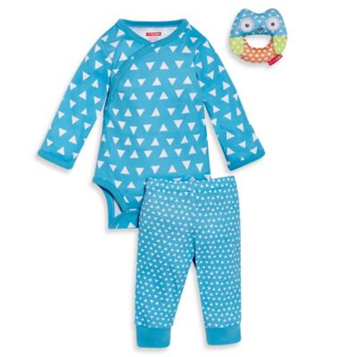 Skip Hop Pant and Rattle Set