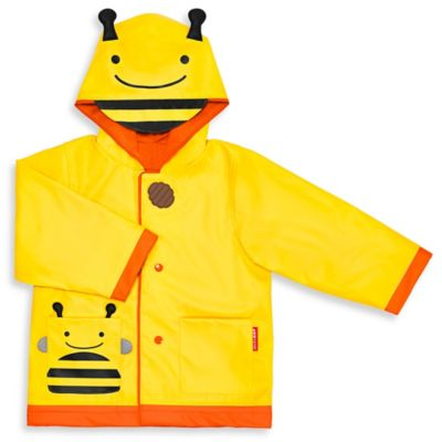 SKIP*HOP Zoo Small Bee Raincoat in Yellow