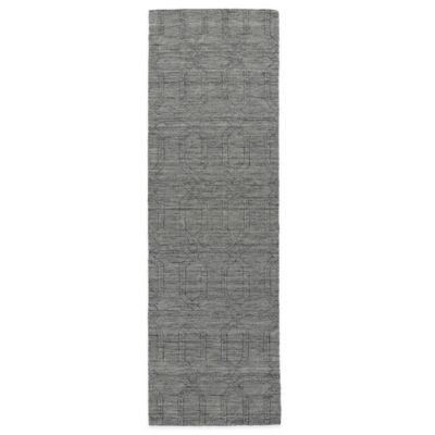 Kaleen Imprints Modern 2-Foot 6-Inch x 8-Foot Rug in Grey