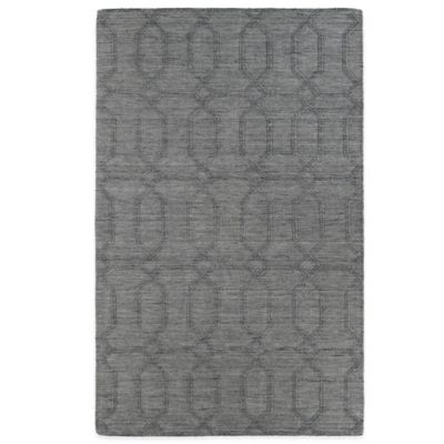 Kaleen Imprints Modern 2-Foot x 3-Foot Rug in Grey