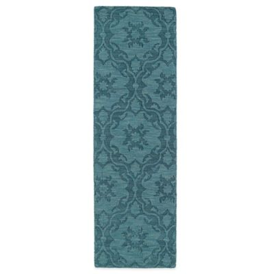 Kaleen Imprints Classic 2-Foot 6-Inch x 8-Foot Rug in Turquoise