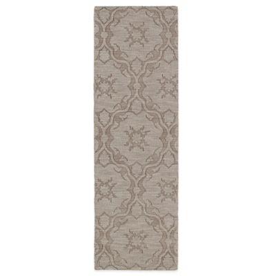Kaleen Imprints Classic 2-Foot 6-Inch x 8-Foot Rug in Light Brown