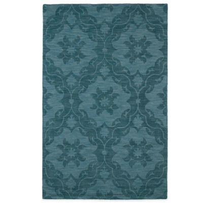 Kaleen Imprints Classic 5-Foot x 8-Foot Rug in Turquoise