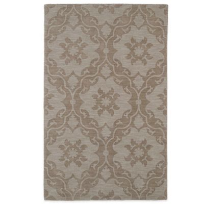 Kaleen Imprints Classic 5-Foot x 8-Foot Rug in Light Brown