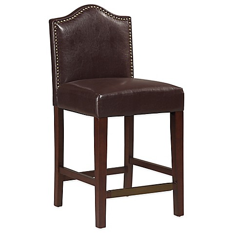 Buy Manor 24 Inch Counter Stool In Blackberry From Bed