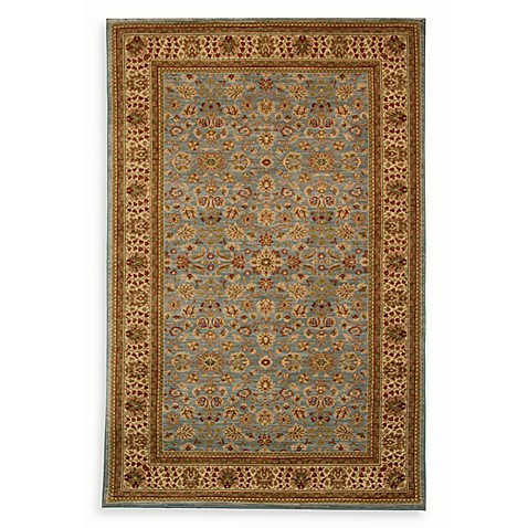 Greenwich Room Size Rug in Pale Blue