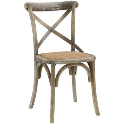 Modway Gear Dining Side Chair in Grey