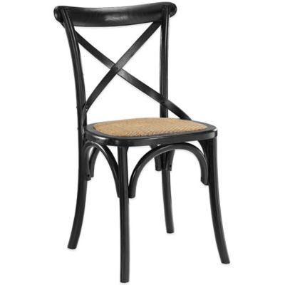 Modway Gear Dining Side Chair in Black