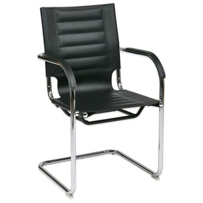 Office Star Products Ave Six® Trinidad Guest Chair in Black