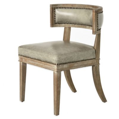 Danforth Dining Chair in Distressed Grey